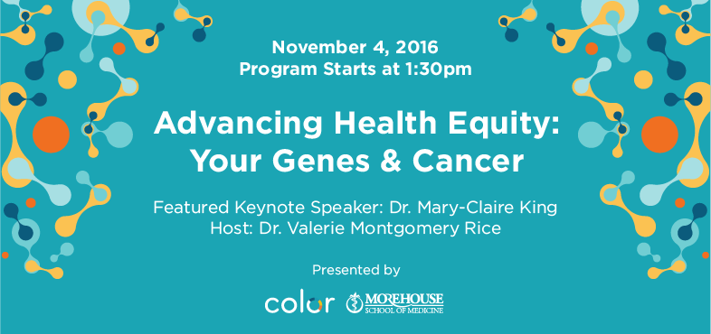 Advancing Health Equity: Your Genes & Cancer