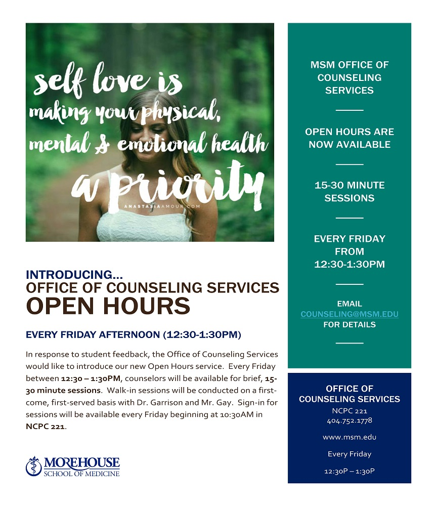 Counseling Services Walk-In