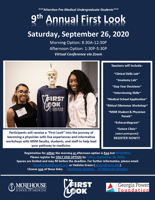 9th Annual First Look Flyer 2020
