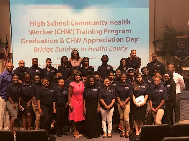 High School Community Health Worker Group picture
