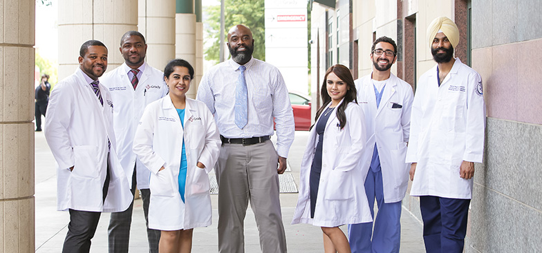 MSM Cardiovascular Disease Fellowship Program participants standing in a group