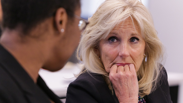 These Young Doctors Will Make A Difference Says Jill Biden During Cancer Talks With Msm Students And Staff Morehouse School Of Medicine