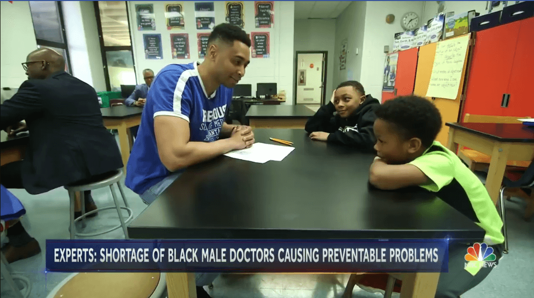 NBC News: Shortage of Black Male Doctors Having Public Health Impact