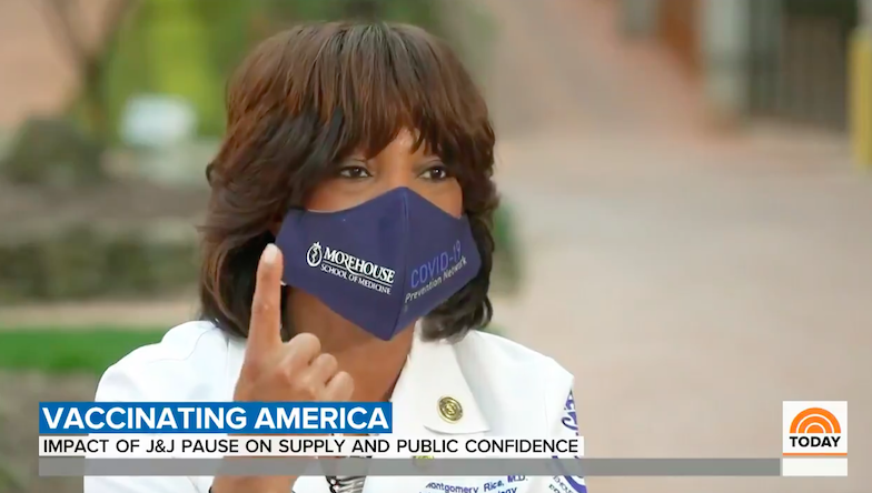 Dr. Valerie Montgomery Rice spoke to NBC's Blayne Alexander on TODAY About Vaccine Confidence