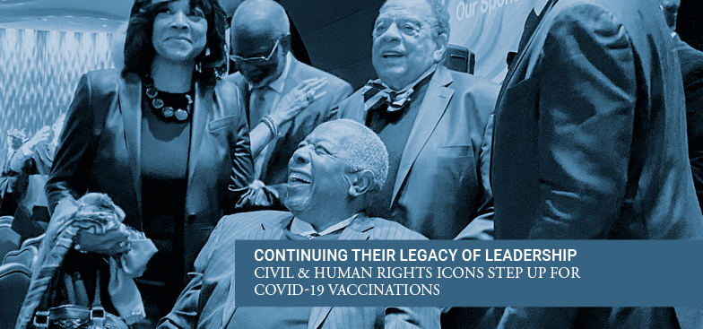 Civil and Human Rights Leaders Set to Receive COVID-19 Vaccinations