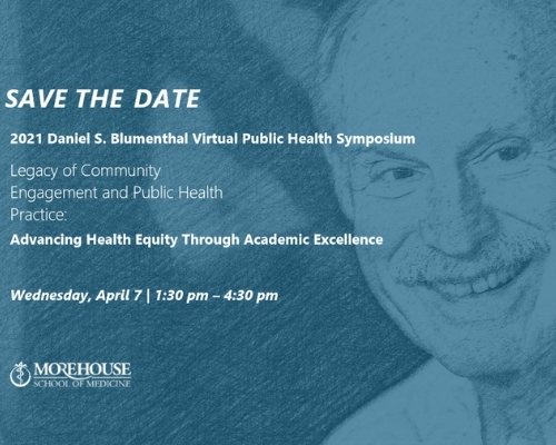 2021 Daniel S. Blumenthal Virtual Public Health Symposium - Register today!