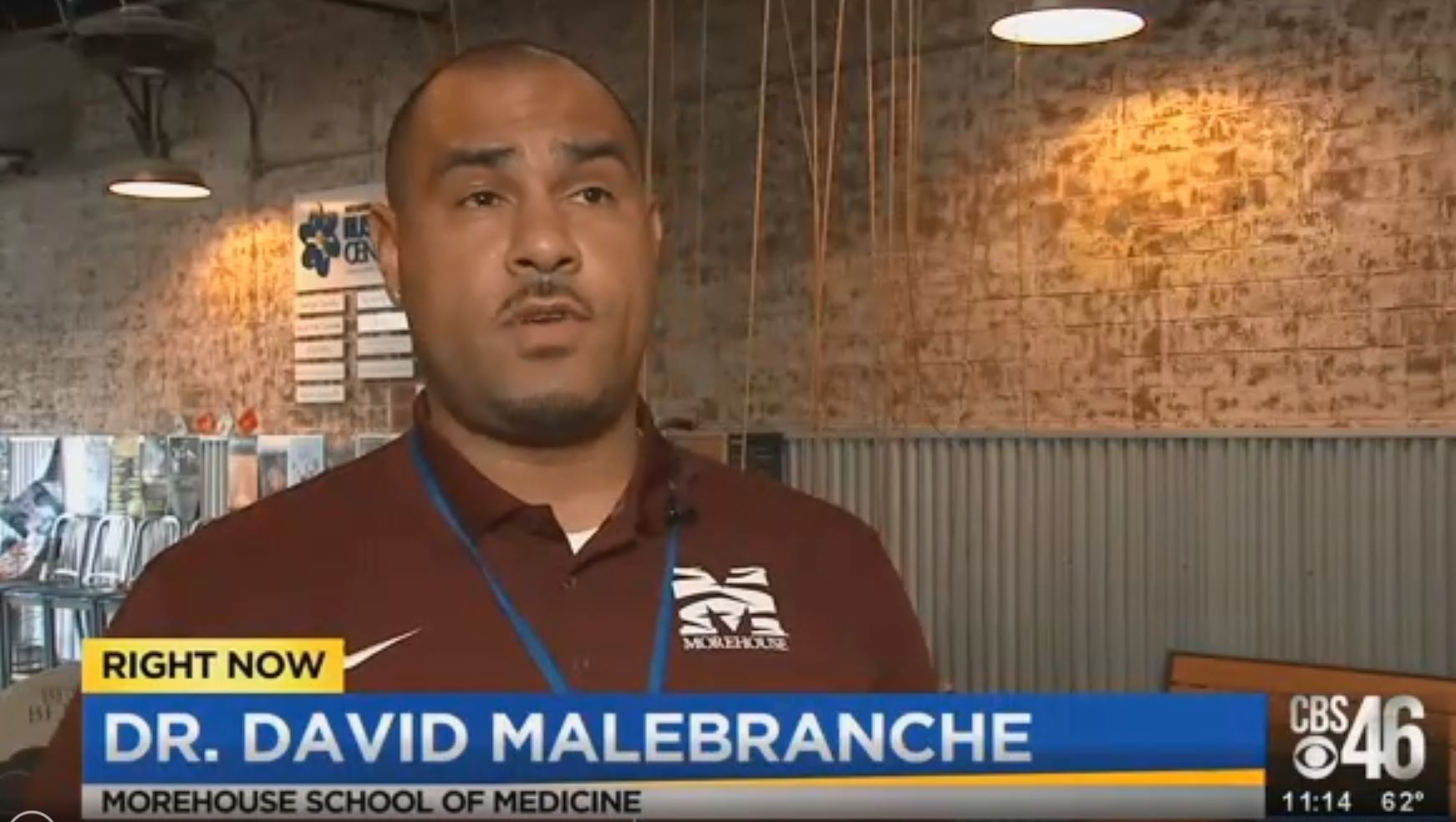 Morehouse School of Medicine's Dr. David Malebranche shares his thoughts with CBS46 about the gay dating app Grindr's new feature that reminds users to get tested and how it could be more effective.