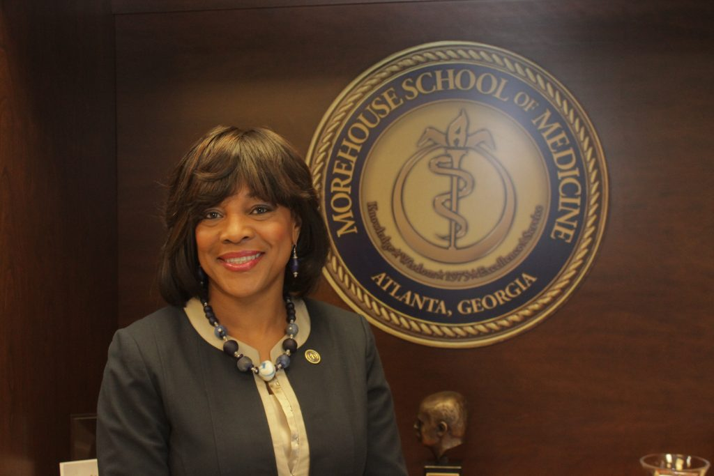 The Atlanta Voice closed out Women's History Month with a cover story on Morehouse School of Medicine President and Dean Dr. Valerie Montgomery Rice. During the interview, Dr. Montgomery Rice spoke about her vision to continue the school's growth and her goals to inspire young women, promote maternal health and reduce health disparities.