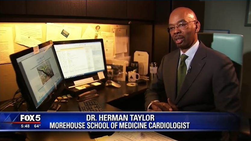 MSM's Dr. Herman Taylor Speaks with Fox 5 About New Study on African American Resiliency