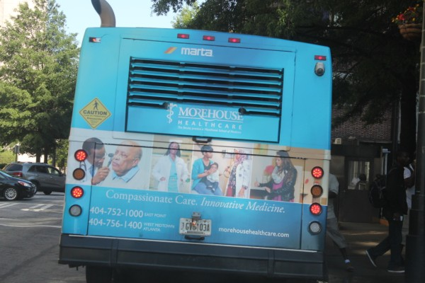 Morehouse Healthcare MARTA Advertising