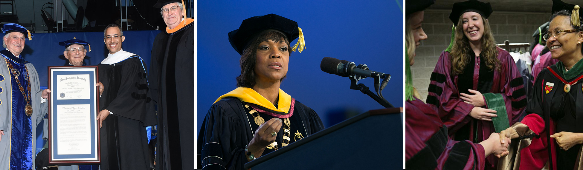 MSM Leaders Highly Sought After for Commencement Addresses, Honorary Degrees
