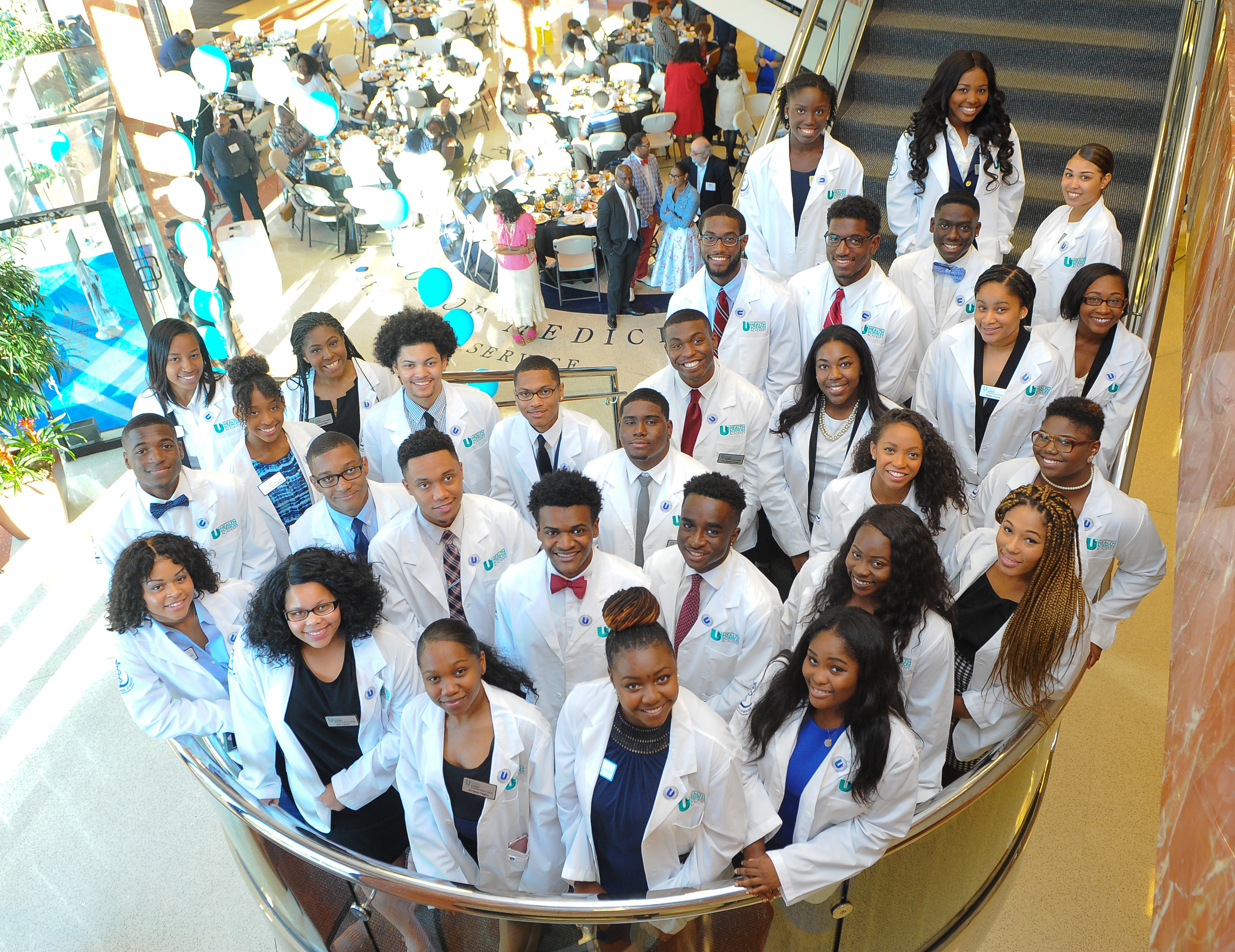 MSM Inducts 30 AUCC Students into the Inaugural Cohort of the Undergraduate Health Sciences Academy