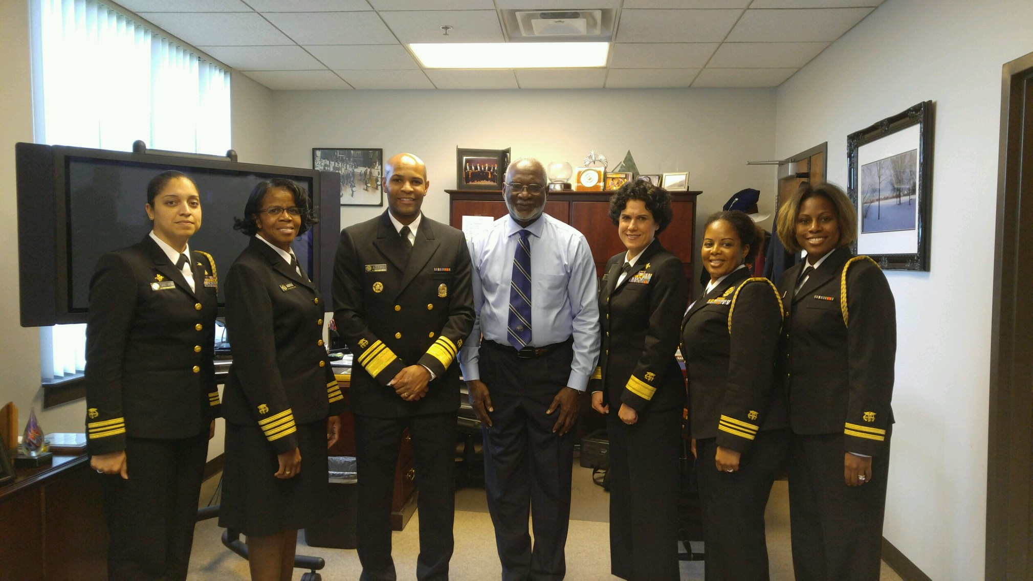 U.S. Surgeon General Adams Holds Fireside Chat with MSM Students and Faculty