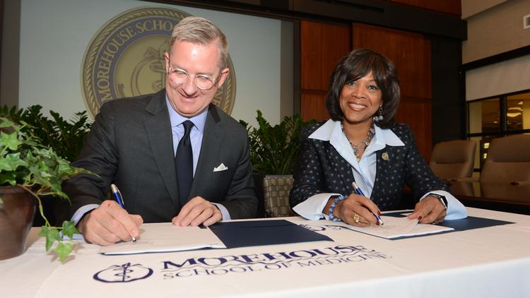 Dr. Valerie Montgomery Rice and Scott Taylor sign $50 million MSM expansion deal