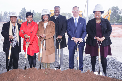 Morehouse School of Medicine and Carter Celebrate Lee Street Campus Groundbreaking