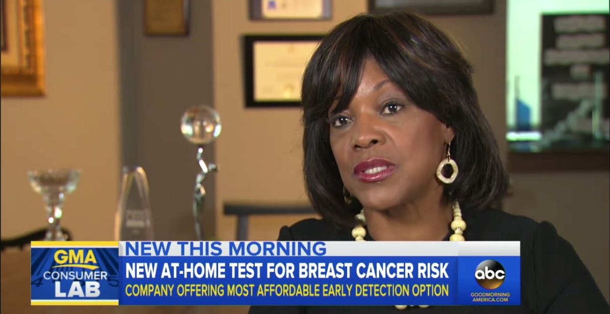 Dr. Montgomery Rice Speaks with Good Morning America About Color's New Affordable At-Home BRCA Gene Test