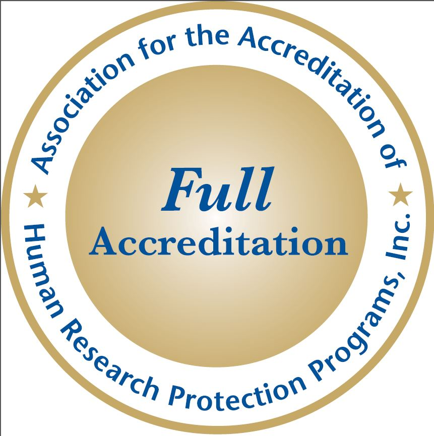 HRPP Accreditation Seal