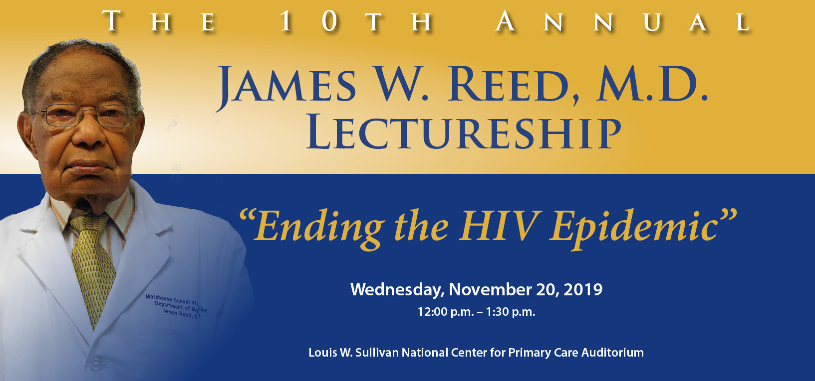 James W. Reed, M.D. Lectureship