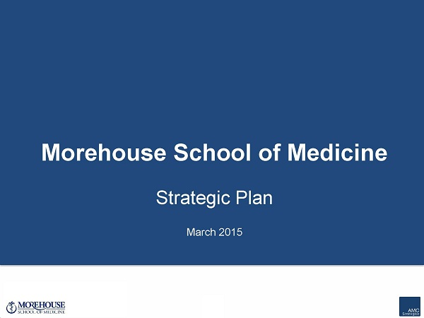 March 2015 Strategic Plan