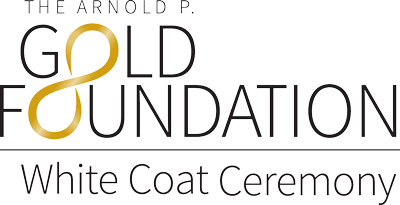 The Arnold P. Gold Foundation White Coat Ceremony