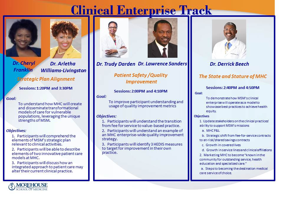 Clinical Enterprise Track