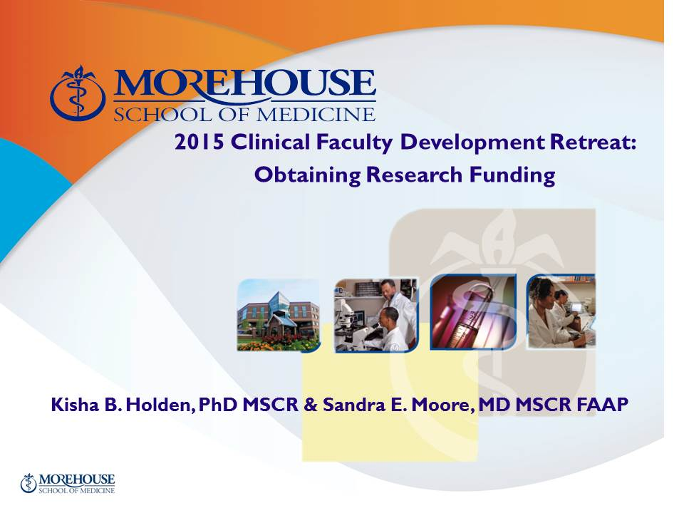 Obtaining Research Funding PPT