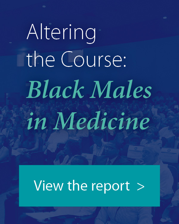 A new report has been published by the Association of American Medical Colleges (AAMC), Altering the Course: Black Males in Medicine, which explores the reasons for the decline in black males applying to and attending medical school.
