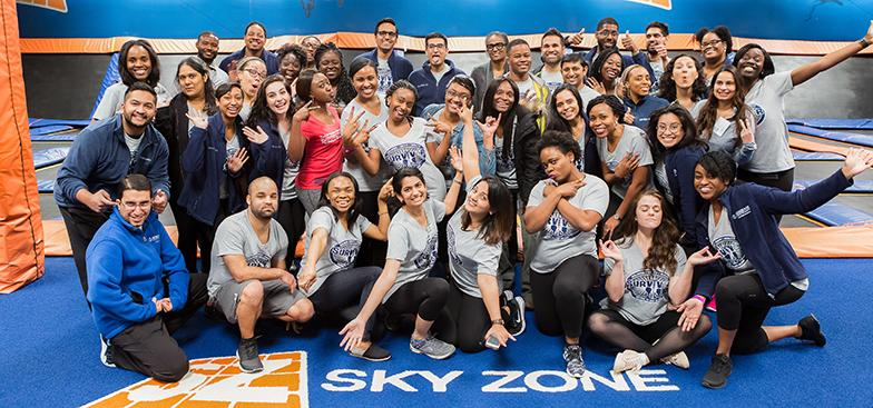 Students in the Sky Zone