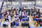Over 42 exhibitors participated in Community Engagement Day 2018, with a turnout of nearly 400 community members