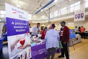 Wellstar Atlanta Medical Center exhibits educational information