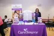 Care Source exhibits to provide information about Medicaid to Community Engagement Day guest
