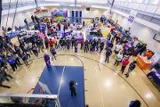 Nearly 400 community members attended Community Engagement Day at the Villages at Carver Family YMCA