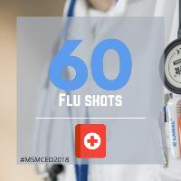 60 Flu Shots