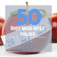 50 Body Mass Index Checks