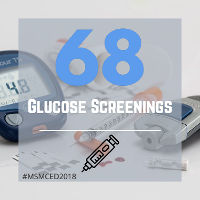 68 Glucose Screenings