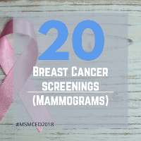 20 Breast Cancer Screenings (Mammograms)