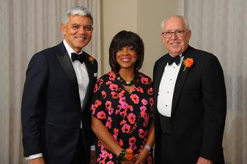 Valerie Montgomery Rice, M.D. with AAMC at Spencer Forman Awards Ceremony