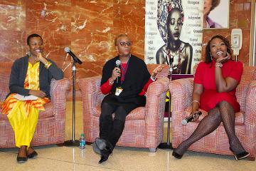 Dr. Tabia Akintobi and Dr. Natalie Hernandez  hosted a panel discussion.