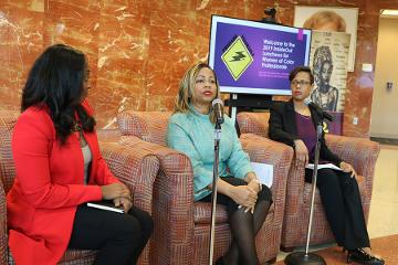 Panelists included Holly D. Reid-Toodle, Rosalind Mitchell, and Jeneita Bell