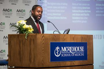 Brian Rivers, PhD, MPH, co-director of the Cancer Health Equity Institute at Morehouse School of Medicine and chair of the AACR's Minorities in Cancer Research, provides an overview of cancer health disparities in Georgia and the nation.