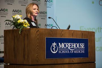"Elaine Mardis, PhD, Presiden-elect, AACR convenes ""Progress and Promise"" as mistress of ceremonies."