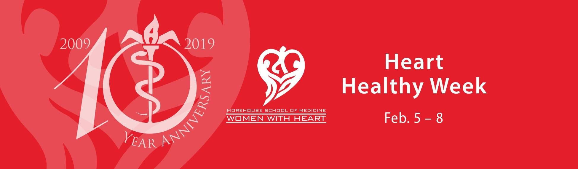 Heart Healthy Week Feb. 5-8