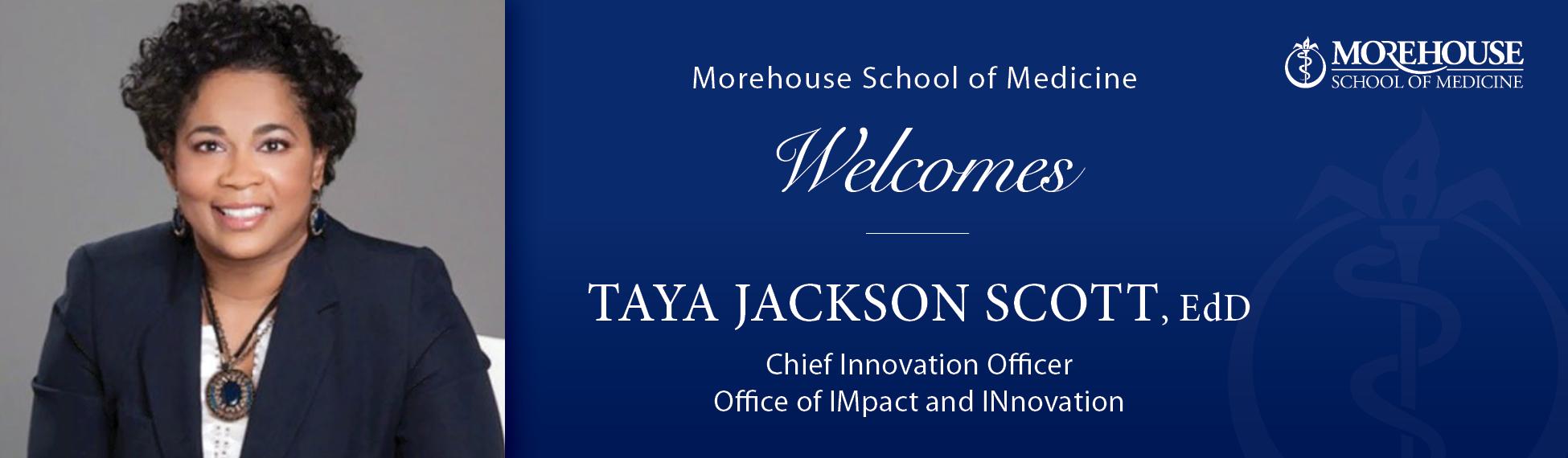Taya Scott Welcome
