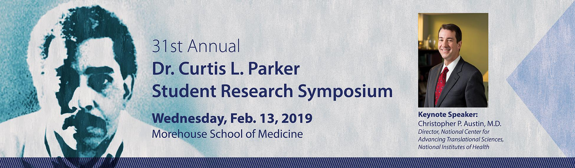 Dr. Curtis L. Parker Student Research Symposium