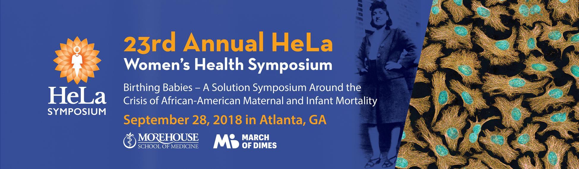 23rd Annual HeLa Women's Health Symposium