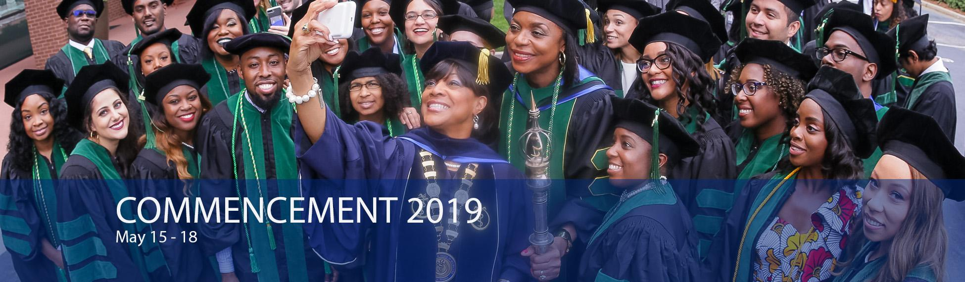 Commencement 2019, May 15-18