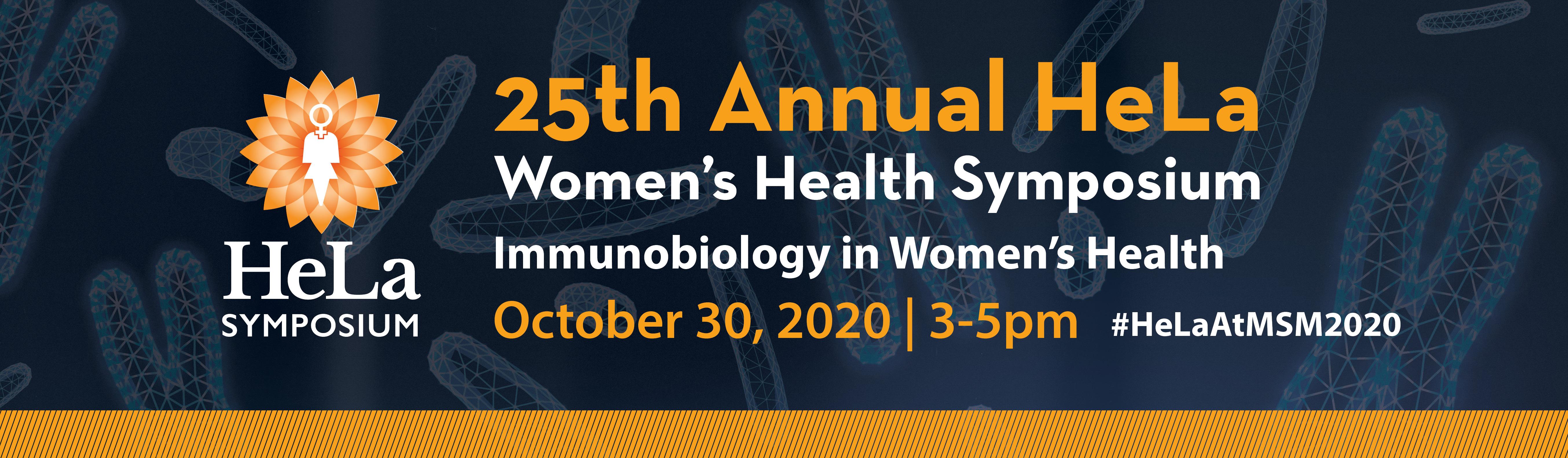 25th Annual HeLa Women's Health Symposium