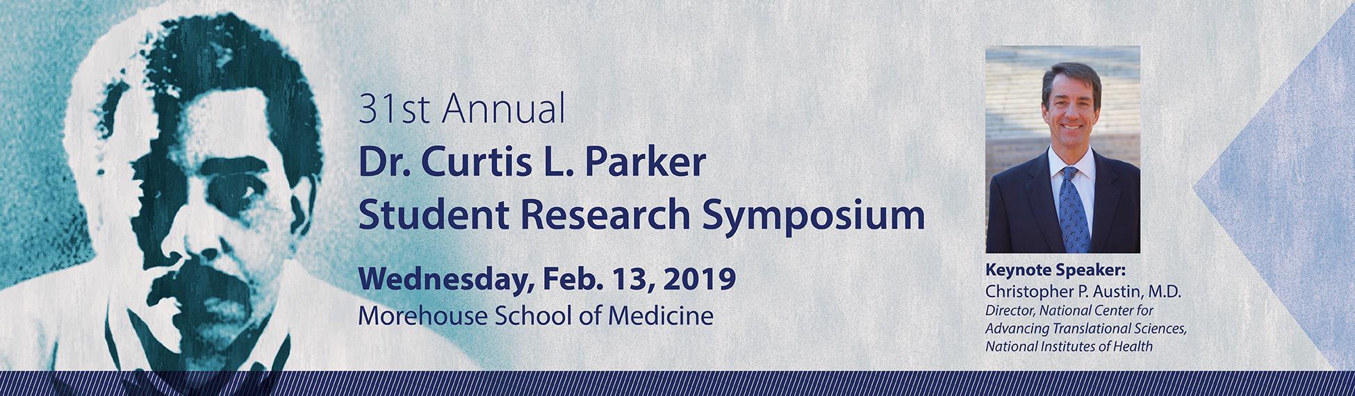 Dr. Curtis L. Parker Student Research Symposium