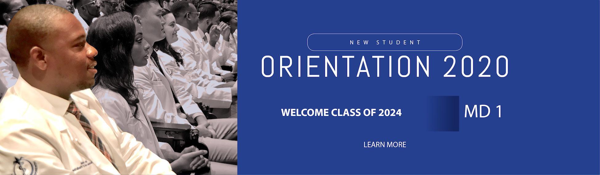 MD Orientation 2020