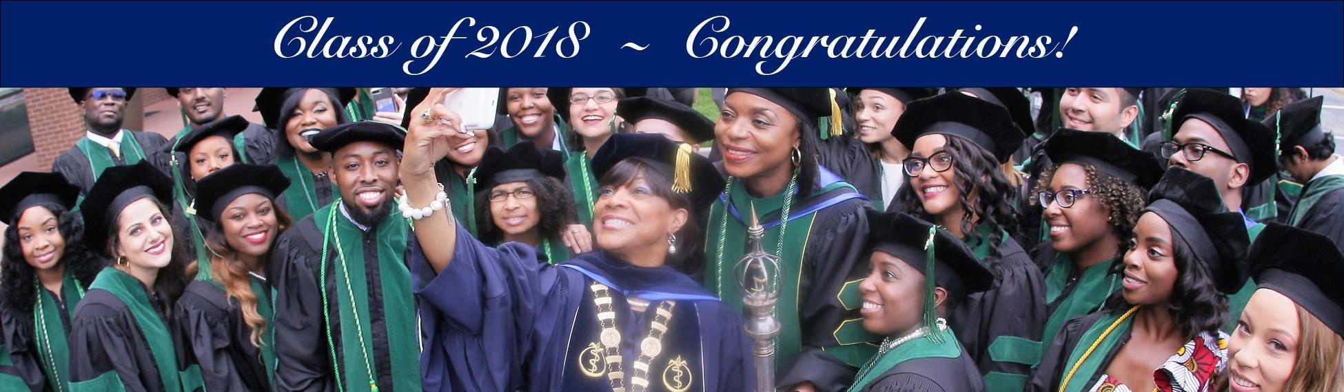 Class of 2018 - Congratulations!